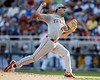 Texas pitcher Taylor Jungmann throws a pitch during the Gators' game against the Texas Longhorns in the College World Series on Saturday, June 18, 2011 at TD Ameritrade Park in Omaha, Neb. / Gator Country photo by Tim Casey