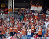 Texas fans cheer during the Gators' game against the Texas Longhorns in the College World Series on Saturday, June 18, 2011 at TD Ameritrade Park in Omaha, Neb. / Gator Country photo by Tim Casey