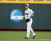 Florida senior Bryson Smith throw the ball to the infield during the Gators' 8-4 win against the Texas Longhorns in the College World Series on Saturday, June 18, 2011 at TD Ameritrade Park in Omaha, Neb. / Gator Country photo by Tim Casey