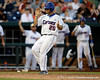 Florida junior Preston Tucker scores during the Gators' 8-4 win against the Texas Longhorns in the College World Series on Saturday, June 18, 2011 at TD Ameritrade Park in Omaha, Neb. / Gator Country photo by Tim Casey