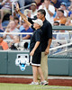 during the Gators' game against the Texas Longhorns in the College World Series on Saturday, June 18, 2011 at TD Ameritrade Park in Omaha, Neb. / Gator Country photo by Tim Casey