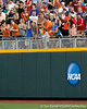 Fans taunt players with a beach ball on a string during the Gators' 8-4 win against the Texas Longhorns in the College World Series on Saturday, June 18, 2011 at TD Ameritrade Park in Omaha, Neb. / Gator Country photo by Tim Casey