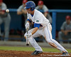 Florida sophomore shortstop Nolan Fontana bunts during the Gators' 7-0 win against the Alabama Crimson Tide on Friday, April 22, 2011 at McKethan Stadium in Gainesville, Fla. / Gator Country photo by Tim Casey