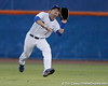 Florida senior Bryson Smith catches a fly ball in center field during the Gators' 7-0 win against the Alabama Crimson Tide on Friday, April 22, 2011 at McKethan Stadium in Gainesville, Fla. / Gator Country photo by Tim Casey