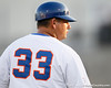 Florida baseball assistant coach Craig Bell looks on during the Gators' 7-0 win against the Alabama Crimson Tide on Friday, April 22, 2011 at McKethan Stadium in Gainesville, Fla. / Gator Country photo by Tim Casey
