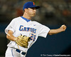 Florida junior pitcher Nick Maronde throws to first base during the Gators' 7-0 win against the Alabama Crimson Tide on Friday, April 22, 2011 at McKethan Stadium in Gainesville, Fla. / Gator Country photo by Tim Casey