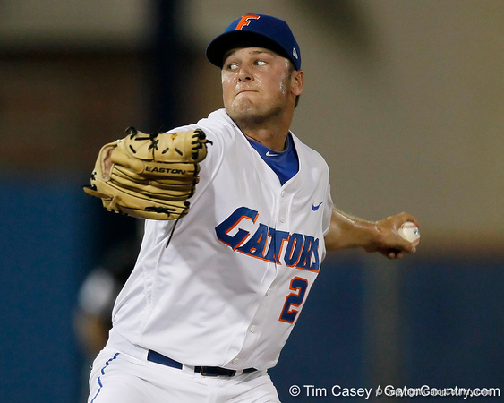 Florida junior pitcher Nick Maronde winds up during the Gators' 7-0 win against the Alabama Crimson Tide on Friday, April 22, 2011 at McKethan Stadium in Gainesville, Fla. / Gator Country photo by Tim Casey
