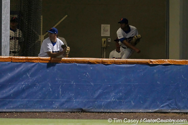 Florida senior pitcher Matt Campbell warms up in the bullpen during the Gators' 7-0 win against the Alabama Crimson Tide on Friday, April 22, 2011 at McKethan Stadium in Gainesville, Fla. / Gator Country photo by Tim Casey