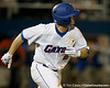 Florida senior Josh Adams runs out a home run during the Gators' 7-0 win against the Alabama Crimson Tide on Friday, April 22, 2011 at McKethan Stadium in Gainesville, Fla. / Gator Country photo by Tim Casey