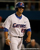Florida junior Preston Tucker celebrates after hitting a home run during the Gators' 7-0 win against the Alabama Crimson Tide on Friday, April 22, 2011 at McKethan Stadium in Gainesville, Fla. / Gator Country photo by Tim Casey