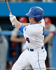 Florida sophomore shortstop Nolan Fontana hits a single during the Gators' 7-0 win against the Alabama Crimson Tide on Friday, April 22, 2011 at McKethan Stadium in Gainesville, Fla. / Gator Country photo by Tim Casey