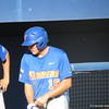 Justin Shafer at the Florida Gators fall baseball scrimmage on Nov. 9, 2012, at McKethan Stadium in Gainesville, Fla.