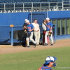 Catcher Todd Haskel (31) at the Florida Gators fall baseball scrimmage on Nov. 9, 2012, at McKethan Stadium in Gainesville, Fla.