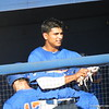 Vickash Ramjit at the Florida Gators fall baseball scrimmage on Nov. 9, 2012, at McKethan Stadium in Gainesville, Fla.