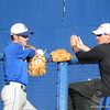 Casey Turgeon, left, at the Florida Gators fall baseball scrimmage on Nov. 9, 2012, at McKethan Stadium in Gainesville, Fla.