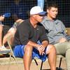 Coach Kevin O'Sullivan at the Florida Gators fall baseball scrimmage on Nov. 9, 2012, at McKethan Stadium in Gainesville, Fla.