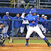 Freshman Richie Martin at bat during the Gators' 4-2 win against Duke on Saturday, February 16, 2013 at McKethan Stadium in Gainesville, Fla. / Gator Country photo by Danielle Bloch