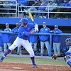 Sophomore Taylor Gushue about to swing the bat during the Gators' 4-2 win against Duke on Saturday, February 16, 2013 at McKethan Stadium in Gainesville, Fla. / Gator Country photo by Danielle Bloch