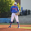 Freshman Tucker Simpson concentrating before throwing a pitch during the Gators' 4-2 win against Duke on Saturday, February 16, 2013 at McKethan Stadium in Gainesville, Fla. / Gator Country photo by Danielle Bloch
