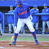 Sophomore Zack Powers preparing to bat during the Gators' 4-2 win against Duke on Saturday, February 16, 2013 at McKethan Stadium in Gainesville, Fla. / Gator Country photo by Danielle Bloch