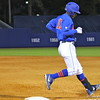 Freshman Richie Martin after running to first base during the Gators' 4-2 win against Duke on Saturday, February 16, 2013 at McKethan Stadium in Gainesville, Fla. / Gator Country photo by Danielle Bloch