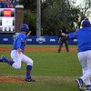 Sophomore Zack Powers during the Gators' 4-2 win against Duke on Saturday, February 16, 2013 at McKethan Stadium in Gainesville, Fla. / Gator Country photo by Danielle Bloch