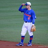 Sophomore Casey Turgeon in between plays during the Gators' 4-2 win against Duke on Saturday, February 16, 2013 at McKethan Stadium in Gainesville, Fla. / Gator Country photo by Danielle Bloch
