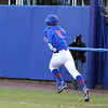 Sophomore Zack Powers running to first base during the Gators' 4-2 win against Duke on Saturday, February 16, 2013 at McKethan Stadium in Gainesville, Fla. / Gator Country photo by Danielle Bloch