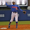Freshman Richie Martin about to throw the ball during the Gators' 4-2 win against Duke on Saturday, February 16, 2013 at McKethan Stadium in Gainesville, Fla. / Gator Country photo by Danielle Bloch