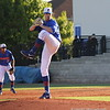 Tucker Simpson about to pitch during the Gators' 4-2 win against Duke on Saturday, February 16, 2013 at McKethan Stadium in Gainesville, Fla. / Gator Country photo by Danielle Bloch