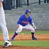 Sophomore Taylor Gushue getting ready to run to second base during the Gators' 4-2 win against Duke on Saturday, February 16, 2013 at McKethan Stadium in Gainesville, Fla. / Gator Country photo by Danielle Bloch