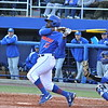 Sophomore Josh Tobias at bat during the Gators' 4-2 win against Duke on Saturday, February 16, 2013 at McKethan Stadium in Gainesville, Fla. / Gator Country photo by Danielle Bloch