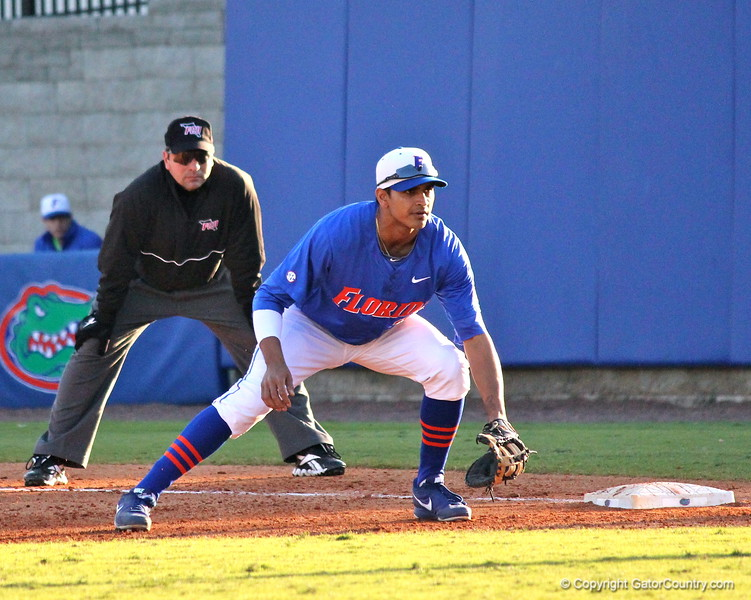 Senior Vickash Ramjit during the Gators' 4-2 win against Duke on Saturday, February 16, 2013 at McKethan Stadium in Gainesville, Fla. / Gator Country photo by Danielle Bloch