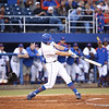 Justin Schafer during Florida's 1-4 loss to Florida State on March 12, 2013 in Gainesville, Florida. Photos by Curtis Bryant for Gatorcountry.com