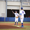Zack Powers and Danny Young during Florida's 1-4 loss to Florida State on March 12, 2013 in Gainesville, Florida. Photos by Curtis Bryant for Gatorcountry.com