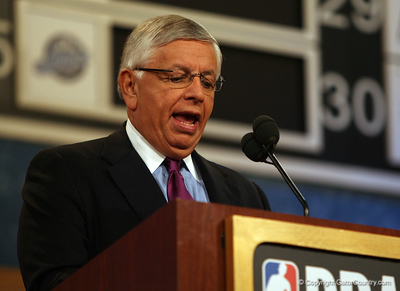 photo by Tim Casey<br /> <br /> during the 2007 NBA Draft on Thursday, June 28, 2007 at Madison Square Garden in New York, N.Y..