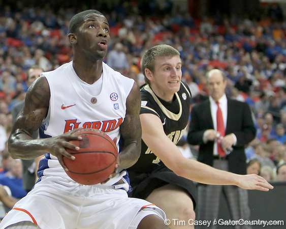 Photo Gallery: UF men's basketball vs. Vanderbilt, SEC Tournament, 3/12/11