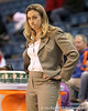 Florida head coach Amanda Butler reacts to a play during the second half of the Gators' 70-64 win against the Alabama Crimson Tide on Thursday, January 27, 2011 at the Stephen C. O'Connell Center in Gainesville, Fla. / Gator Country photo by Tim Casey