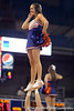 Florida cheerleaders perform during the second half of the Gators' 70-64 win against the Alabama Crimson Tide on Thursday, January 27, 2011 at the Stephen C. O'Connell Center in Gainesville, Fla. / Gator Country photo by Tim Casey