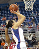 Florida junior center Azania Stewart shoots a layup during the first half of the Gators' 70-64 win against the Alabama Crimson Tide on Thursday, January 27, 2011 at the Stephen C. O'Connell Center in Gainesville, Fla. / Gator Country photo by Tim Casey