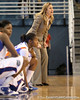 Florida head coach Amanda Butler shouts instructions during the first half of the Gators' 70-64 win against the Alabama Crimson Tide on Thursday, January 27, 2011 at the Stephen C. O'Connell Center in Gainesville, Fla. / Gator Country photo by Tim Casey