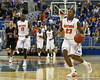 Florida freshman guard Bradley Beal during the Gators' 114-57 win over the Catholic Cardinals on Thursday, November 3rd, 2011 at the Steven C. O'Connell Center in Gainesville, Fla./Gator Country photo by Rob Foldy