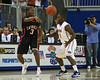 Florida senior guard Erving Walker defends a Catholic player during the Gators' 114-57 win over the Catholic Cardinals on Thursday, November 3rd, 2011 at the Steven C. O'Connell Center in Gainesville, Fla./Gator Country photo by Rob Foldy