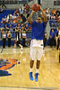 before the Gators' 114-57 win over the Catholic Cardinals on Thursday, November 3rd, 2011 at the Steven C. O'Connell Center in Gainesville, Fla./Gator Country photo by Rob Foldy