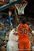 Florida freshman guard Bradley Beal drives and lays 2 points during the Gators' 63-47 win against the Auburn Tigers on Tuesday, February 21, 2012 at the Stephen C. O'Connell Center in Gainesville, Fla. / Gator Country photo by Saj Guevara