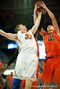Florida junior forward Erik Murphy fights for the rebound during the Gators' 63-47 win against the Auburn Tigers on Tuesday, February 21, 2012 at the Stephen C. O'Connell Center in Gainesville, Fla. / Gator Country photo by Saj Guevara