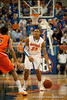 Florida freshman guard Bradley Beal sdirecting traffic during the Gators' 63-47 win against the Auburn Tigers on Tuesday, February 21, 2012 at the Stephen C. O'Connell Center in Gainesville, Fla. / Gator Country photo by Saj Guevara