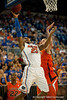 Florida freshman guard Bradley Beal lays in 2 points during the Gators' 63-47 win against the Auburn Tigers on Tuesday, February 21, 2012 at the Stephen C. O'Connell Center in Gainesville, Fla. / Gator Country photo by Saj Guevara