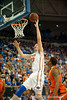 Florida junior forward Erik Murphy rebounds and lays in 2 points during the Gators' 63-47 win against the Auburn Tigers on Tuesday, February 21, 2012 at the Stephen C. O'Connell Center in Gainesville, Fla. / Gator Country photo by Saj Guevara