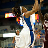 Florida senior guard Deana Allen shoots during the Gators' 79-45 win against the Mississippi St. Bulldogs on Thursday, February 23, 2012 at the Stephen C. O'Connell Center in Gainesville, Fla. / Gator Country photo by Saj Guevara